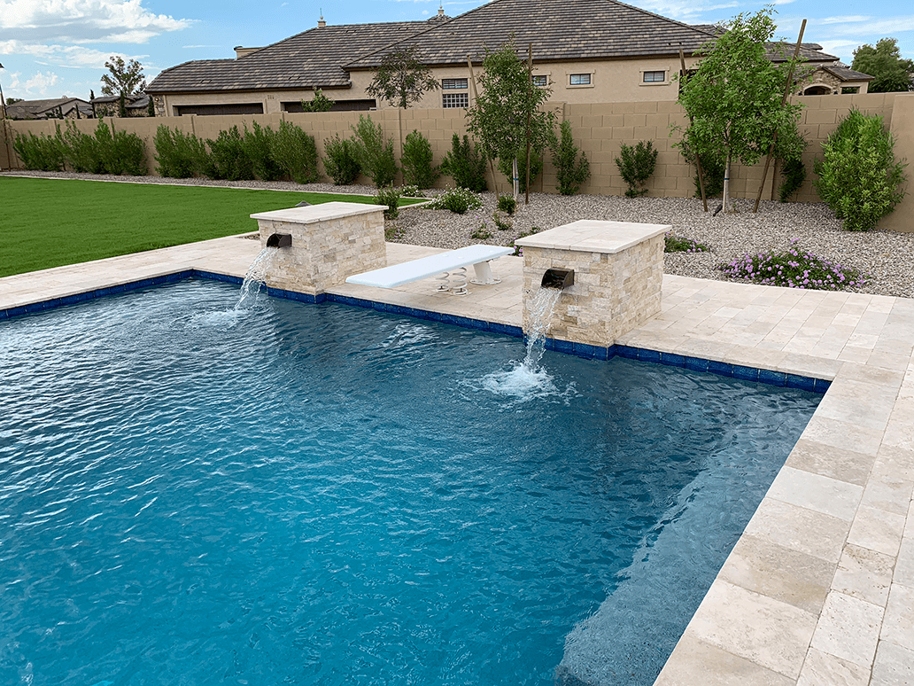 Water Features For Your Swimming Pool Pool Customization Luxury Pools Landscapes